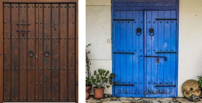 5 tipos de puertas rusticas para interiores que debes for Puertas para casas rusticas