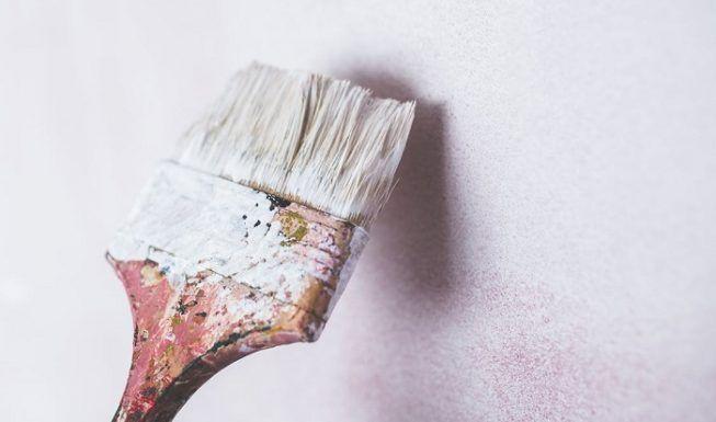 Pintar con pinturas de cal