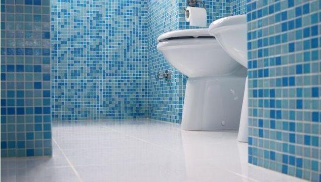 Azulejos en baños pequeños